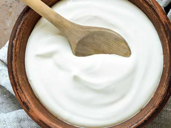 Curd for dandruff