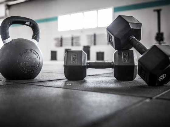 Dumbbell and Kettlebell