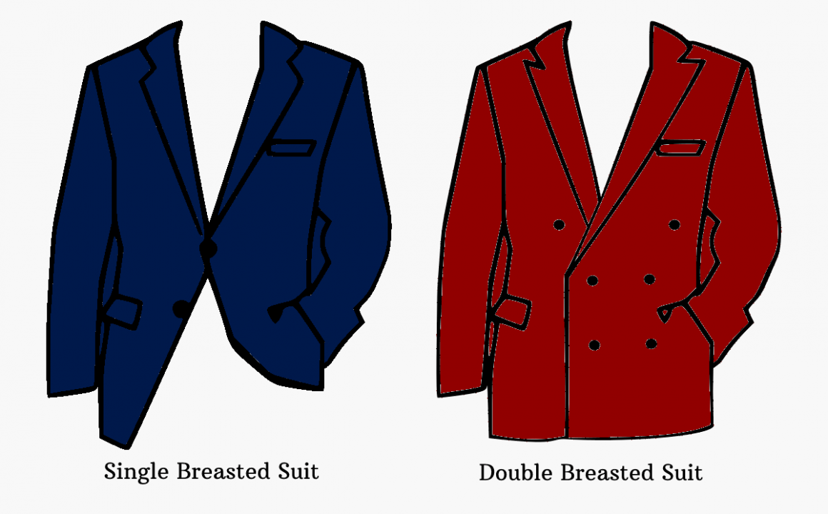 Single Breasted Suits V/s Double Breasted Suits
