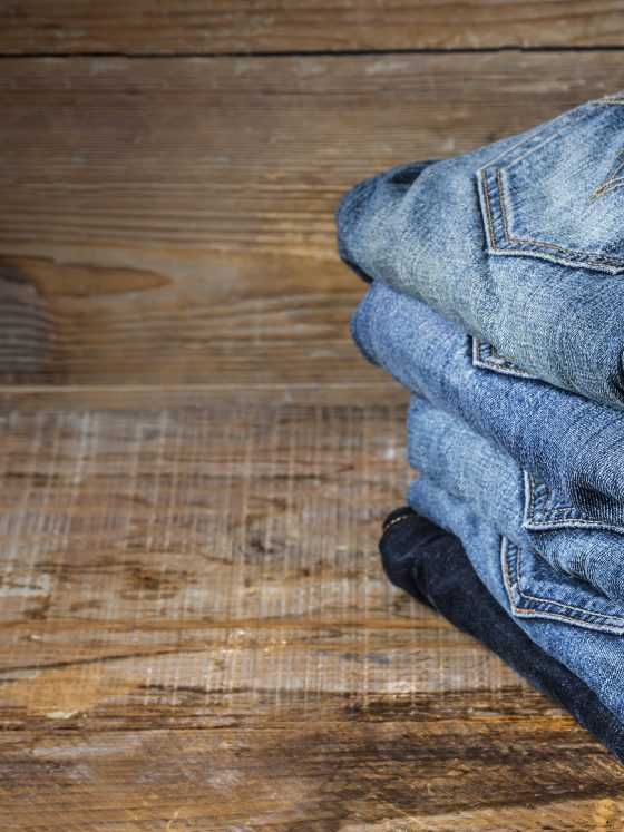 How to shrink jeans